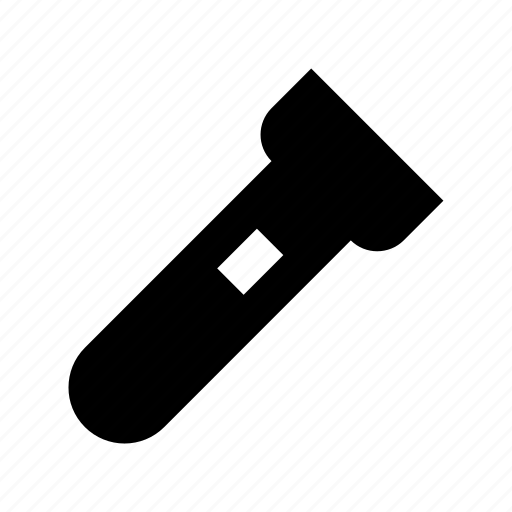 flashlight, light, pocket torch, torch, torch light icon