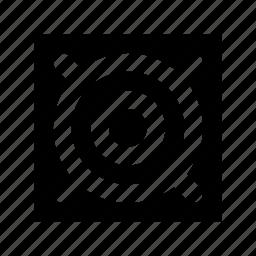 bullseye, crosshair, focus, target, target area icon