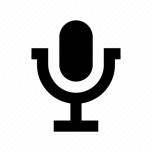 audio, mic, microphone, recording mic, retro icon
