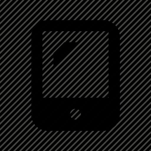 ios device, ipad, ipad device, tab, tablet icon