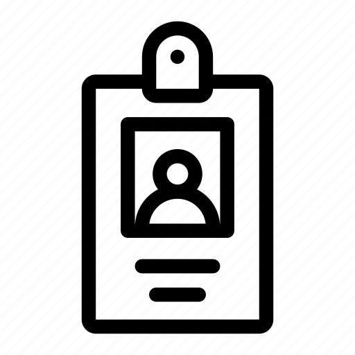 badge, id, id badge, identification, profile, user icon