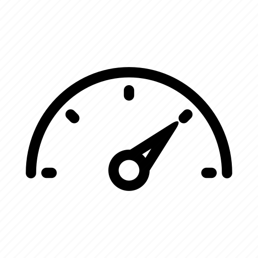 car dashboard, dashboard, gauge, measure, speedometer icon