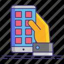 app, interface, mobile, ui icon