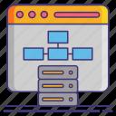 data, database, interfaces, ui icon