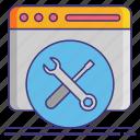 coding, programming, toolkit, tools icon
