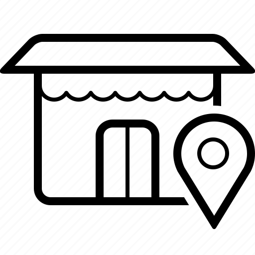 Location, market, shop, store icon - Download on Iconfinder