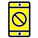 application, disabled, mobile icon