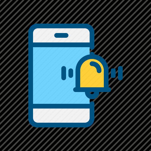 alarm, app, application, clock, mobile, notification, smart phone icon