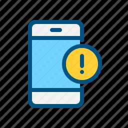 alert, message, mobile, notification, phone, push notification, smart icon