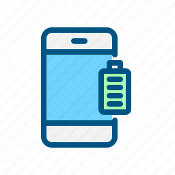 battery, charge, mobile, phone, power, smart phone icon
