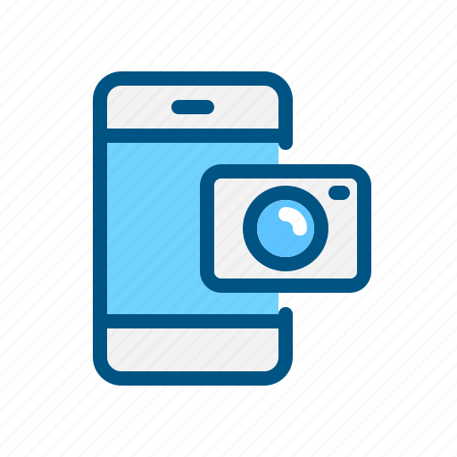 app, application, camera, mobile, mobile camera, photo, smart phone icon