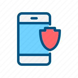 app, application, mobile, protection, safe, security, security icon icon