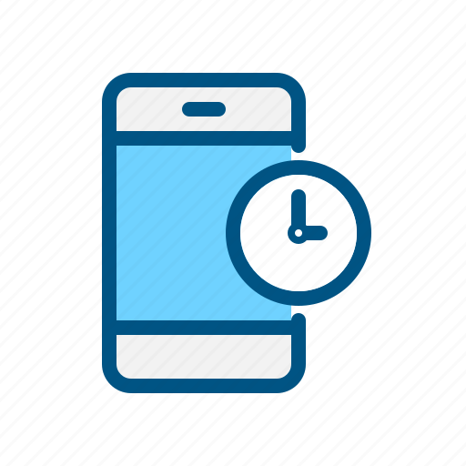 app, clock, mobile, phone, schedule, time, timer icon