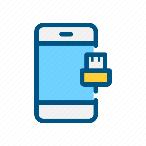 app, data, data cable, mobile, share, transfer, usb icon