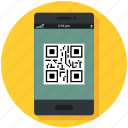 code, commerce, mobile, phone, qr, retail, shopping icon icon