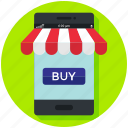 buy, ecommerce, finance, mobile app, online, shop, shopping icon icon