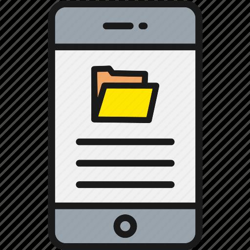 Documentation, folder, library icon - Download on Iconfinder