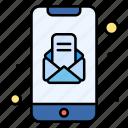 app, message, mobile, open