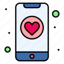 app, dating, phone, heart
