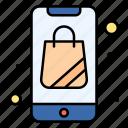 bag, plain, shopping, online, app