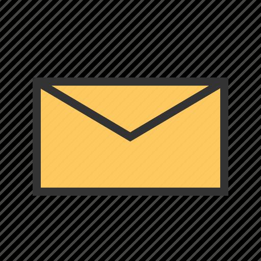 address, email, envelop, inbox, letter, mail, send icon