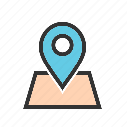 address, find, gprs, locator, map, navigator, pointer icon