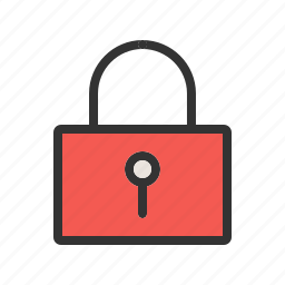 closed, key, lock, locked, safe, secure, security icon