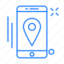 app, gps, location, mobile, navigation icon