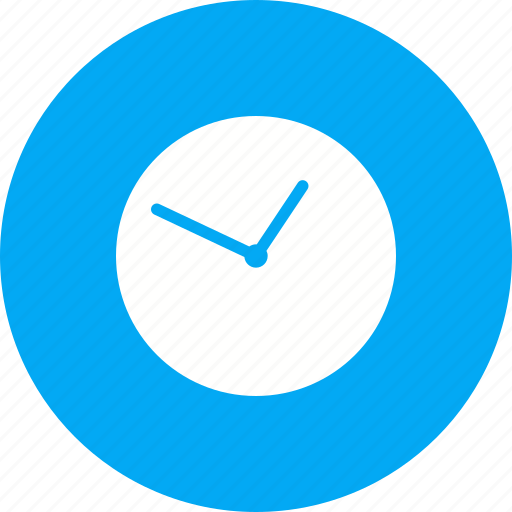 analog, clock, date, digital, round, timer, watch icon