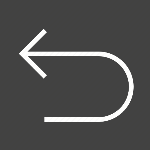 arrow, back, backward, left, move, previous icon