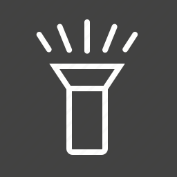bulb, flash, flashlight, lamp, led, light, spotlight icon