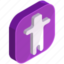 application, mobile, apps, person, user, avatar icon