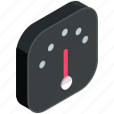 application, apps, mobile, scale, speedometer icon
