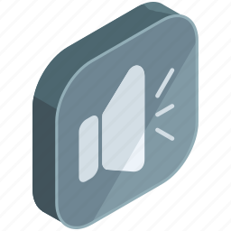 application, apps, control, mobile, preference, settings, volume icon