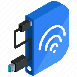 application, apps, internet, mobile, online, storage, wifi icon