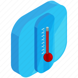 application, apps, forecast, mobile, temperature, thermometer icon