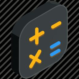 application, apps, calculate, calculator, math, mobile icon