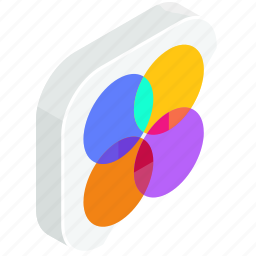 application, apps, color, mobile, palette icon