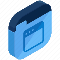 application, apps, browser, folder, mobile icon