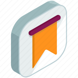 application, apps, book, bookmark, mark, mobile icon