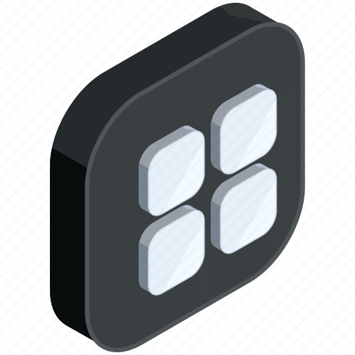 application, apps, buttons, menu, mobile icon