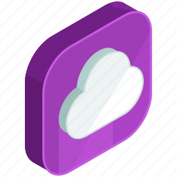 application, apps, cloud, mobile, online, storage, weather icon