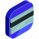 application, apps, card, credit, mobile, payment icon