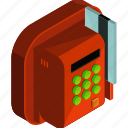 application, apps, card, credit, machine, mobile, payment icon