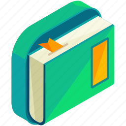 application, apps, book, ebook, mobile, reader, textbook icon