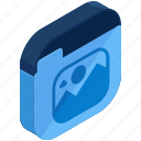 application, apps, folder, image, mobile, photo, photography icon
