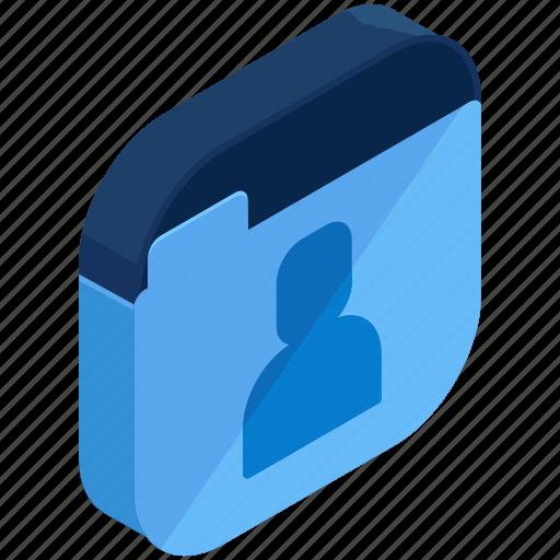 application, apps, folder, mobile, user icon