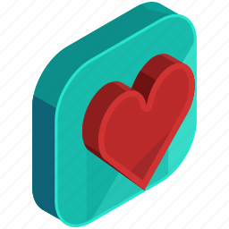 application, apps, dating, favourite, heart, love, mobile icon