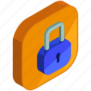 application, apps, lock, mobile, privacy, safety, security icon