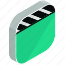 application, apps, cinema, entertainment, mobile, movie, video icon